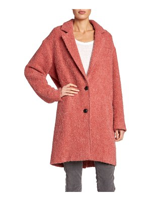 Etoile Isabel Marant Dante Two-Button Alpaca Coat