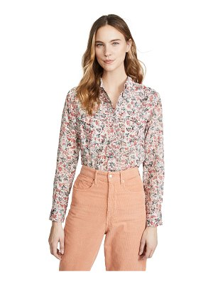 Etoile Isabel Marant emelina button down shirt