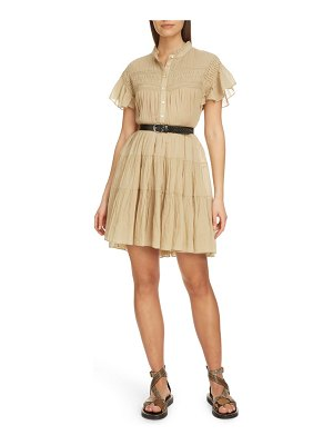 Etoile Isabel Marant lanikaye ruffle pleated shirtdress