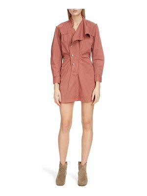 Etoile Isabel Marant linore cotton minidress
