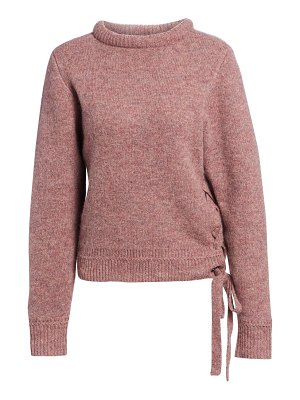 Etoile Isabel Marant marcy lace-up detail sweater