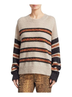 Etoile Isabel Marant russell striped knit sweater