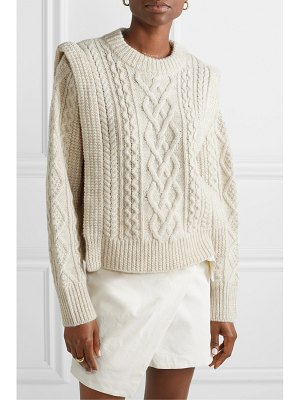 Etoile Isabel Marant tayle cable-knit wool sweater