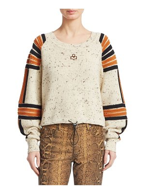 Etoile Isabel Marant wool ribbed detail sweater