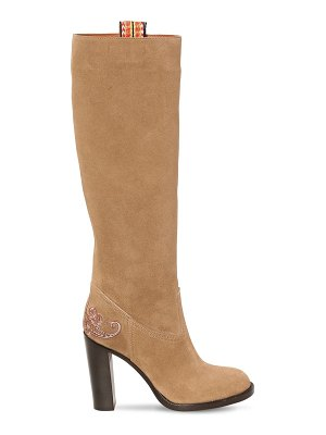 ETRO 95mm suede tall boots