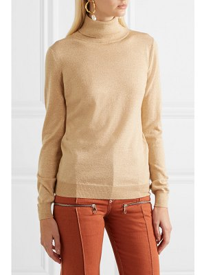ETRO metallic wool-blend turtleneck sweater