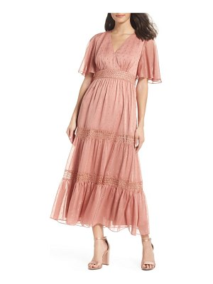 EVER NEW georgie tiered maxi dress