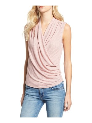 Everleigh surplus knit sleeveless top