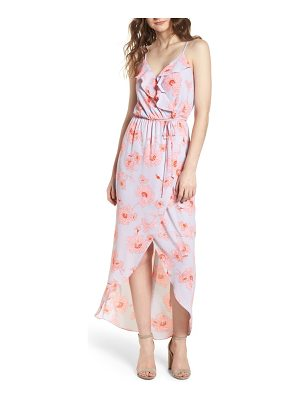everly front ruffle maxi
