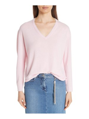 Fabiana Filippi metallic trim cashmere sweater