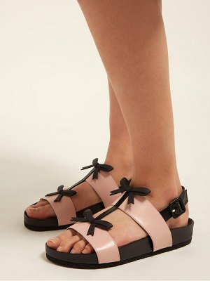 Fabrizio Viti berkley bow leather slingback sandals
