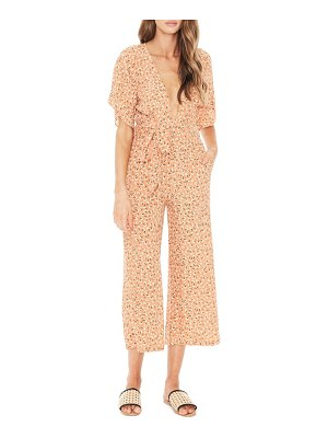 Faithfull The Brand cedric plunging crop jumpsuit