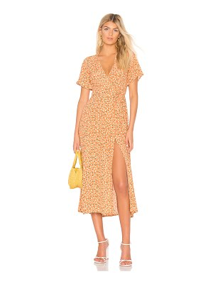 Faithfull The Brand Leila Wrap Dress