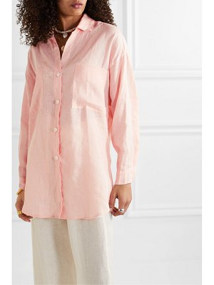Faithfull The Brand marbella cotton-gauze shirt