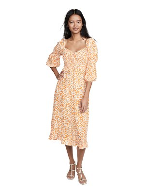 Faithfull The Brand nora midi dress
