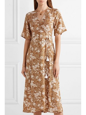 Faithfull The Brand rivera floral-print crepe wrap dress