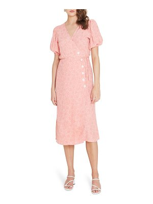 Faithfull The Brand wrap midi dress