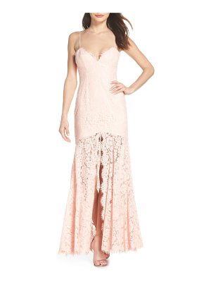 Fame and Partners babe lace gown