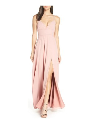 Fame and Partners strappy evening dress