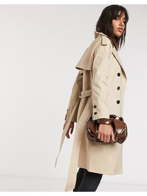 Fashion Union trench coat-beige