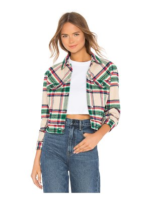Father's Daughter Kathleen Box Crop Jacket