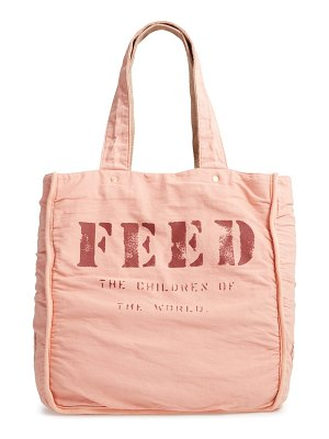 FEED 1 bag burlap tote