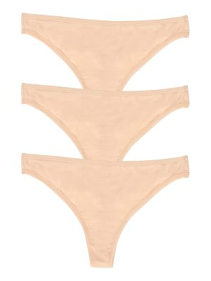 Felina blissful 3-pack stretch thongs