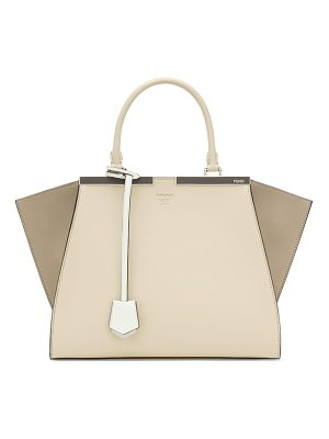 Fendi 3jours colorblock leather shopper
