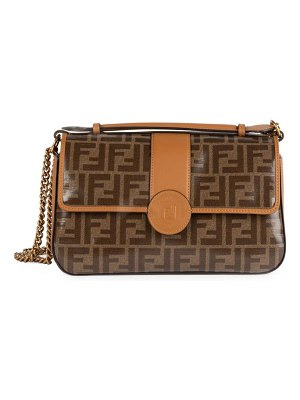 Fendi double f satchel