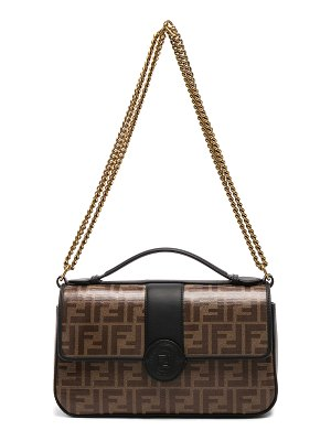 Fendi Double F Shoulder Bag