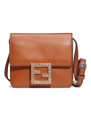 Fendi fab leather crossbody bag