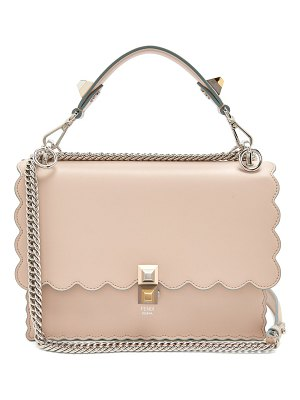 Fendi kan i leather cross body bag