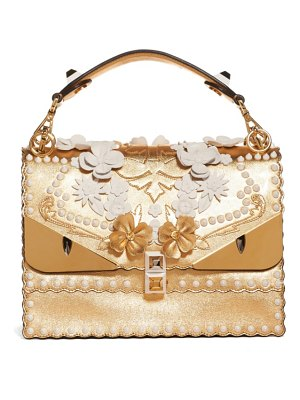 Fendi kan i metallic monster shoulder bag