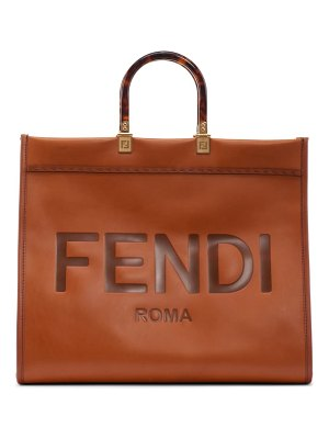 Fendi medium sunshine leather shopper