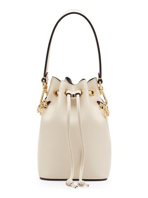 Fendi micro mon tresor leather bucket bag
