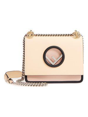 Fendi mini kan i colorblock leather shoulder bag