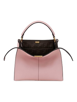 Fendi Peekaboo Xlite Mini Tote Bag