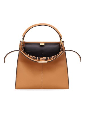 Fendi Peekaboo Xlite Regular Top Handle Bag
