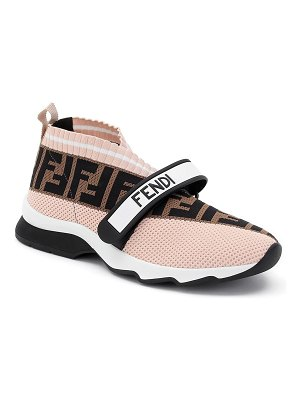 Fendi rockoko knit sock sneakers
