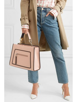 Fendi runaway large leather tote