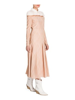 Fendi silk illusion shirtdress