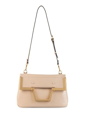 Fendi small leather top handle bag