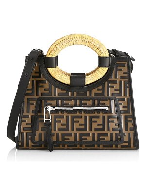 Fendi small ff runaway shopper bag