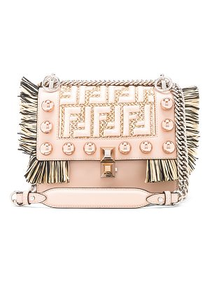 Fendi Small Logo Embroidered Tassel Trim Kan I