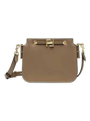 Fendi touch convertible leather bag