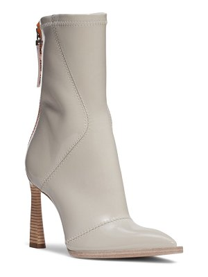 Fendi tronchetto pointed toe boot