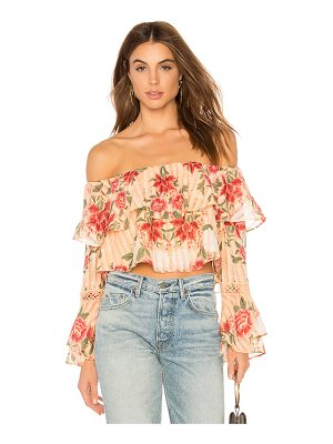 FINDERS KEEPERS Arcadia Off Shoulder Top