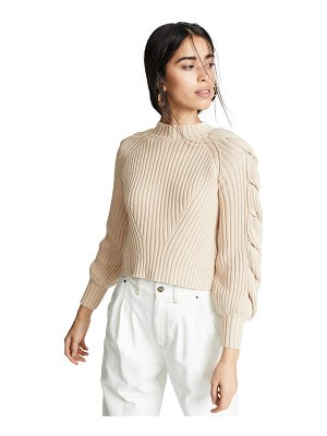 Finders Keepers linear sweater