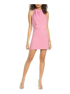 Finders Keepers mae halter neck minidress