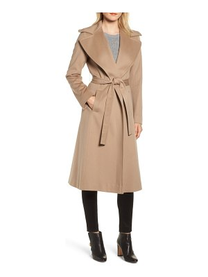 Fleurette loro piana wool wrap coat